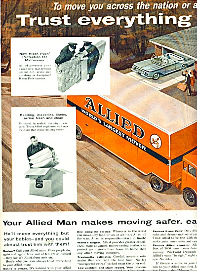 Allied world's largest mover ad -  1959 (Image1)