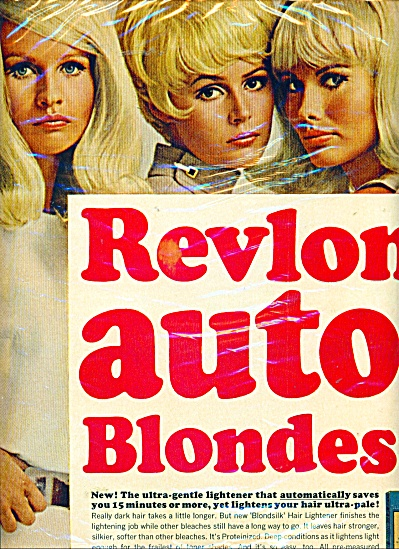Revlon BLONDE SILK 2PG AD SIX BLONDE MODELS (Image1)