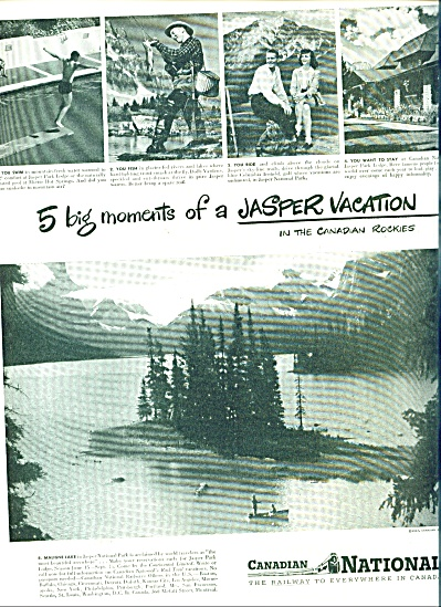 Canadian National railway ad - 1940 (Image1)