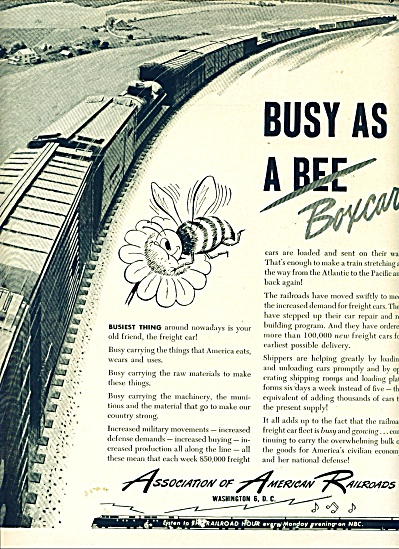 1950 Association of American Railroads ad (Image1)