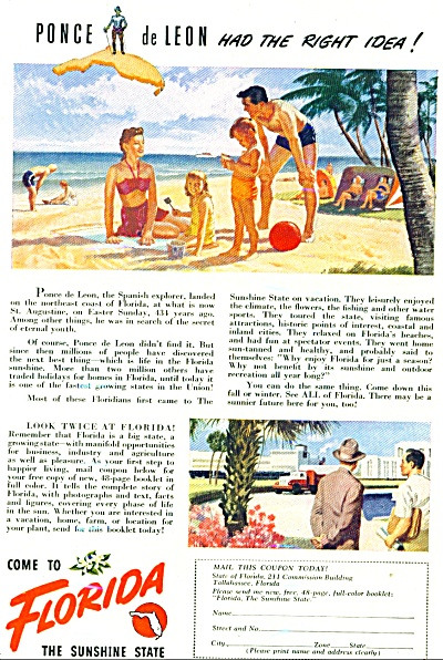 Florida advertising ad (Image1)