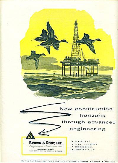 Brown & Root Inc. ad   1956 (Image1)