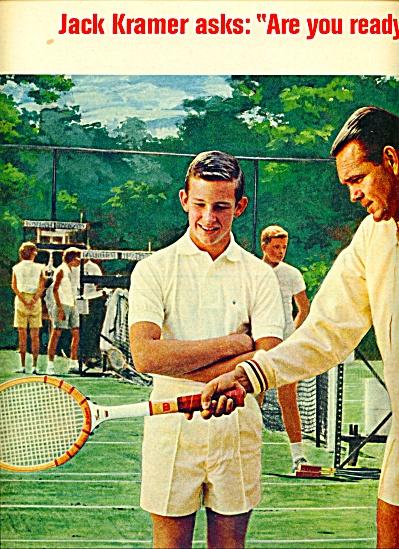 1964 Wilson Sporting AD JACK KRAMER TENNIS (Image1)