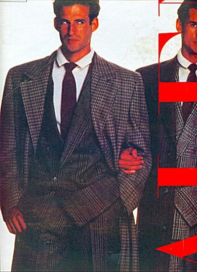 V VALENTINO   UOMO  Ad   1986 (Image1)