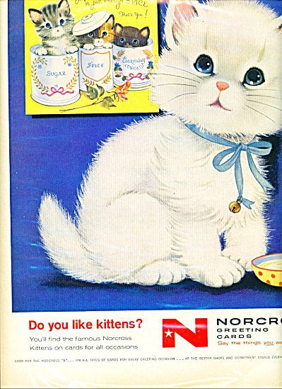 Norcross greeting cards ad (Image1)