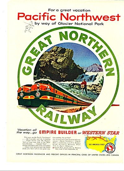 Great Northern railway ad Western Star Empire (Image1)