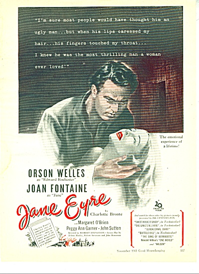 Movie JANE EYRE  ad   1948 (Image1)