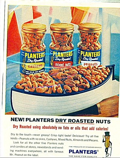 Planters Peanuts  ad   1965 (Image1)