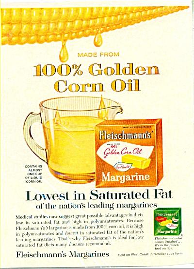Fleischmann's margarine  ad   1965 (Image1)