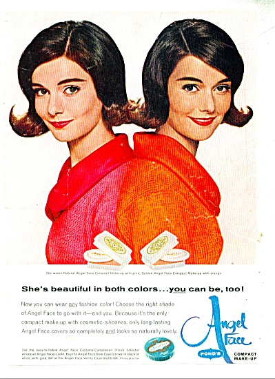 1965 Angel Face compact make up ad - 1965 (Image1)