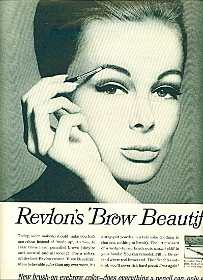 1965 Revlon Monique Chevlalier Brow AD (Image1)