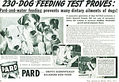 1939 PARD Dog Food AD Wire Haired Fox Terrier (Image1)