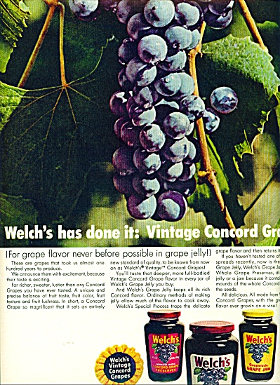 Welch's Grape Jelly  ad (Image1)