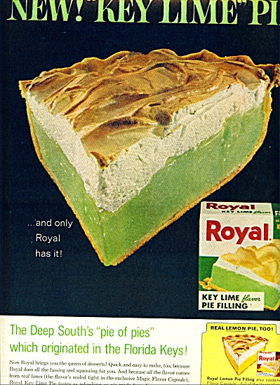 Royal puddings and pie fillings ad - 1965 (Image1)