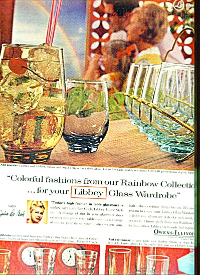 Libbey Owens Illinois Glass Ad 1965