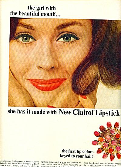 Clairol lipstick ad (Image1)