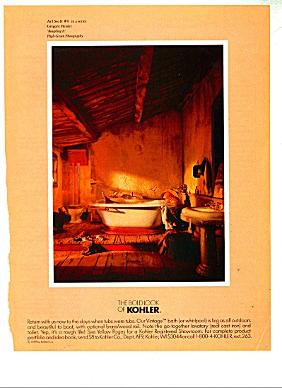 The Bold Look of Kohler ad   1990 (Image1)