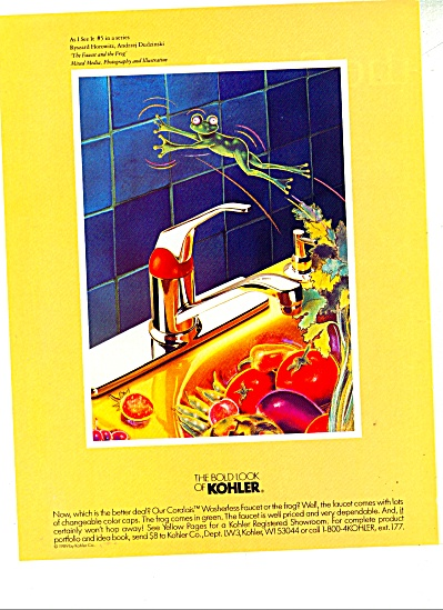 The bold look of Kohler ad Ryszard Horowitz (Image1)
