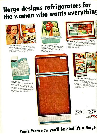 Norge refrigerator ad   1965 (Image1)