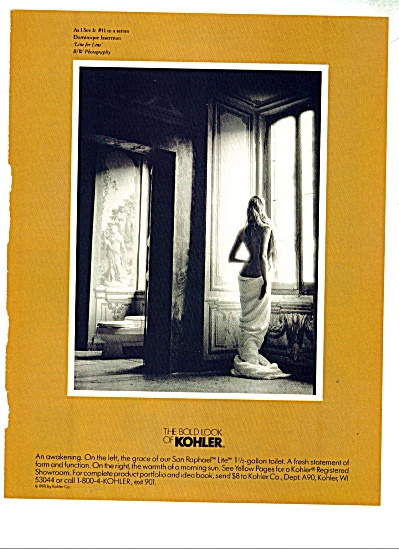 The Bold Look of Kohler ad Dominique Isserman (Image1)