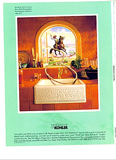 The bold look of Kohler ad Bruce Wolf (Image1)