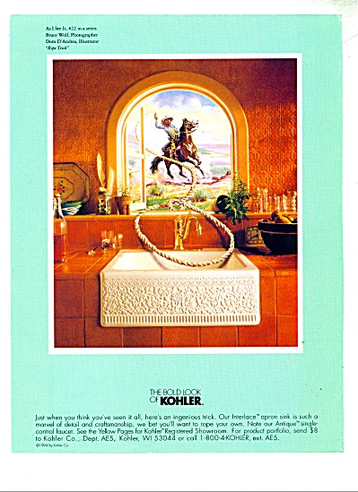 The Bold look of Kohler ad  1995 (Image1)