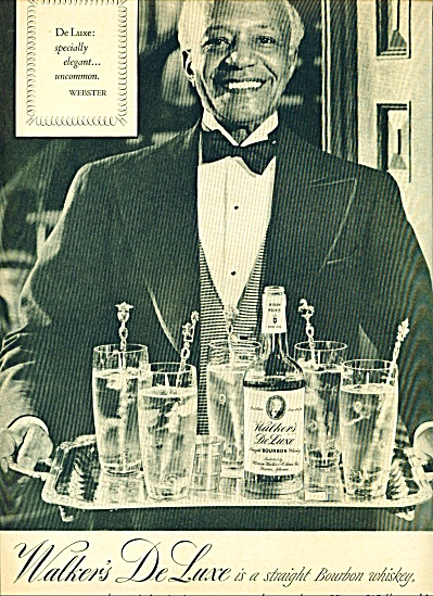 Hiram Walker whiskey ad -  1950 (Image1)