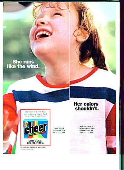 Cheer soap ad  1997 (Image1)
