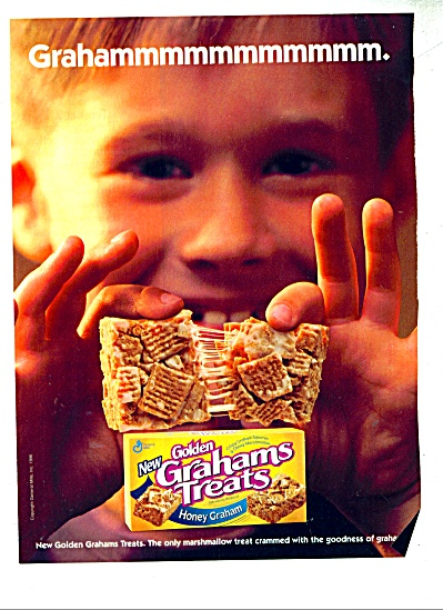 Golden Grahams treats ad   1997 (Image1)