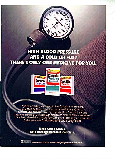 Coricidin cold & cough medicine ad  1997 (Image1)
