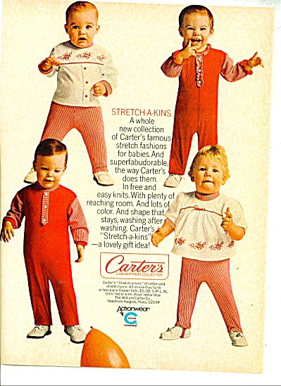 Carter's collection ad   CUTEST KIDS Stripes (Image1)
