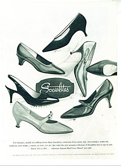 Sociolites shoes   ad  1997 (Image1)