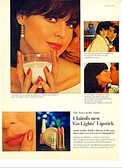 1965 CLAIROL Go LIGHTS Lipstick AD 4pg (Image1)