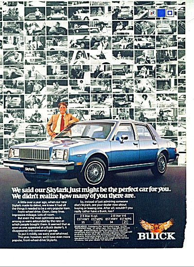 Buick Skylark ad  - 1980 (Image1)