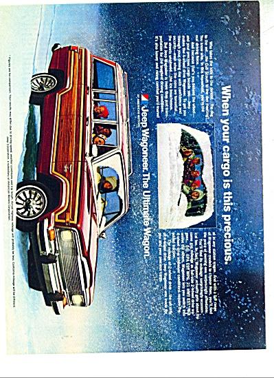 Jeep Wagoneer Wagon ad   1980 (Image1)