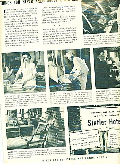 Statler Hotels ad (Image1)