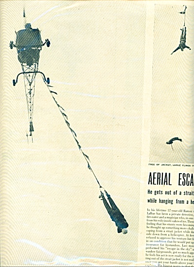 Aerial Escapists Article 1950