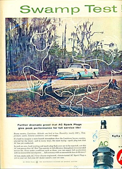 AC spark plugs ad - 1957 (Image1)