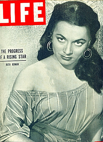 Ruth Roman - rising movie star pages  - 1950 (Image1)