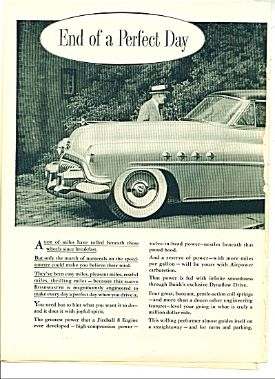 Custom built Roadmaster by Buick ad - 1952 (Image1)