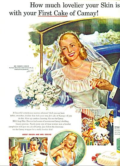 1949 CAMAY AD Charles OGILVIE BETTY HYATT (Image1)