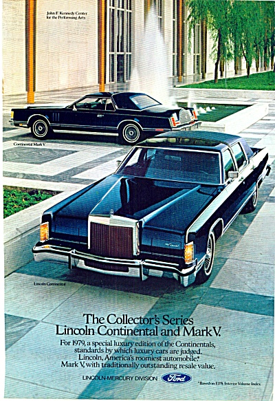Lincoln Continental for 1979 ad (Image1)