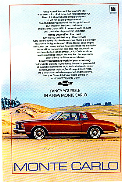Monte Carlo Automobile for 1979 AD (Image1)