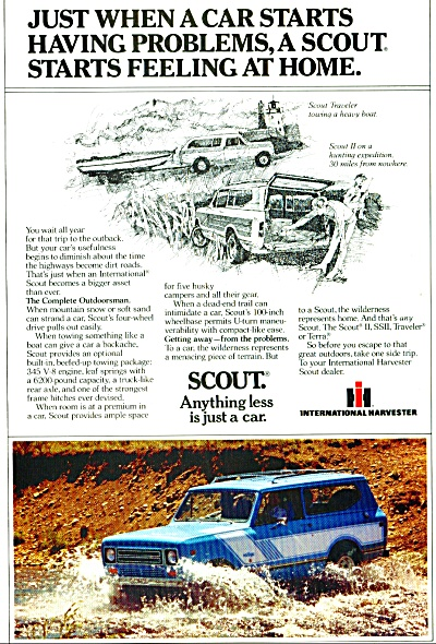 Scout car ad    1979 (Image1)