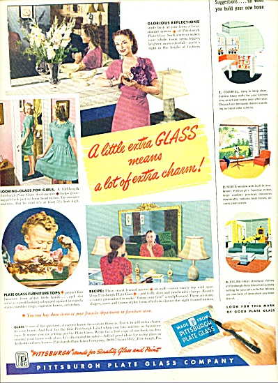 Pittsburgh Plate Glass Company ad - 1947 (Image1)