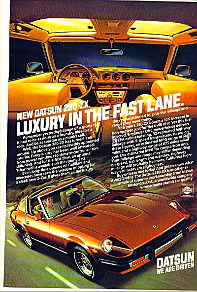 Datsun automobile ad   1981 (Image1)