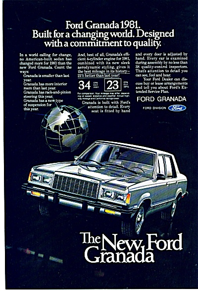 Ford Granada for 1981 ad (Image1)