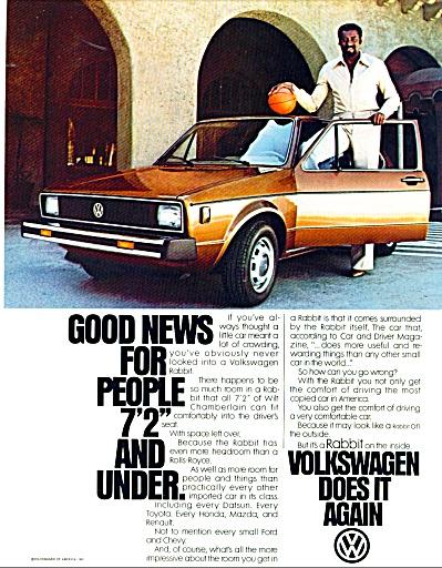 Volkswagen - Wilt Chamberlain - ad (Image1)