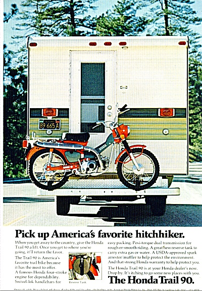 The Honda Trail 90- ad (Image1)