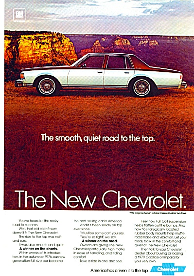 Chevrolet automobile for 1979 Caprice ad (Image1)